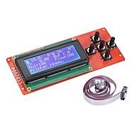 2004 lcd έξυπνη μονάδα οθόνης ελεγκτή οθόνης με καλώδιο για ράμπες 1,4 arduino mega pololu ασπίδα arduino reprap 3d κιτ εκτυπωτή accessor