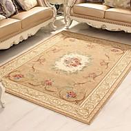 Absorberende glidende moderne teppe til stue / soverom
