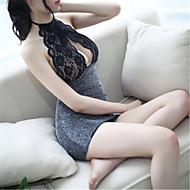 Pentru femei Ultra Sexy Pijamale Spandex-Sexy Dantelă Solid