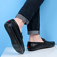 남성 구두 스웨이드 가을 겨울 컴포트 조명 신발 보트 신발 워킹화 제품 캐쥬얼 화이트 블랙 브라운