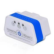 tonwon 2 bt3.0 elm327 obd2 scanner de diagnóstico bluetooth3.0 verifique o motor do carro suportar todos os protocolos obdii para o