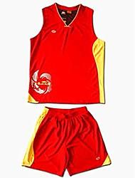 Suit mangas curtas de basquetebol dos homens Zhongjian ®