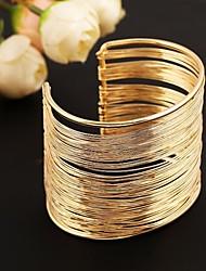Fashion Metal Cuff Bracelet(Gold & Silver)