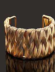 European  Style Iron  Wire Simple Cuff Bracelet (diameter:5.5cm) Christmas Gifts