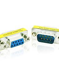 RS232 DB9 muškog i ženskog spola adapter