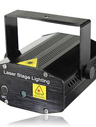 lt - wt rood + groen afstandsbediening mini twinkelende laser toneelverlichting (voice control / zelfrijdende / remote)