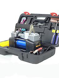 bil utendørs forsyninger verktøysett sett av gass pumpe dekk oppblåsbare luft pumpe bil oppblåsbare pumpe verktøysett