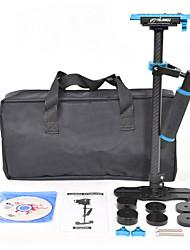 yelangu népszerű 60cm szénszálas kamera stabilizátor s60t kék szín támogatásával dslr univerzális kamerák