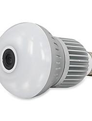 Luzes inteligentesCâmera 2 em 1 Multifunções Informação Controle APP LED Monitoramento remoto Alarme Automático Ocultação Destacável Uso