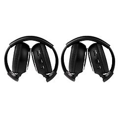 2 kpl infrapuna stereo langaton kuuloke ir-2011d