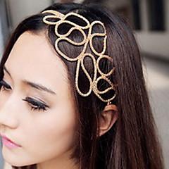 z&X® ontto punottu hiukset kultainen hiukset bändi