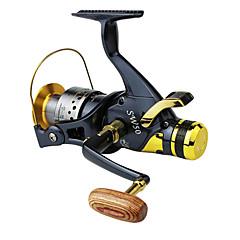 Molinetes de Pesca Molinetes Rotativos 5.2:1 10 Rolamentos Destro / Trocável / Left-HandedPesca de Mar / Isco de Arremesso / Rotação /