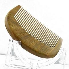 9x5.5cm haute qualité de bois de santal peigne en bois peigne de santé