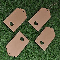 Estiquetas(Castanho,Papel Cartão