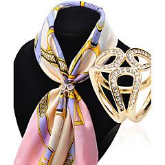 여성 브로치 패션 고급 보석 의상 보석 모조 다이아몬드 합금 보석류 제품 결혼식 파티 특별한 때 생일 일상 캐쥬얼