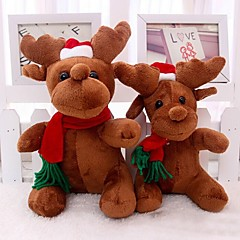Santa Claus jelen milu plyšové hračky Vánoce jelen panenka na Vánoce
