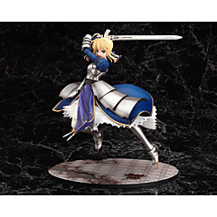 Anime Toimintahahmot Innoittamana Fate/stay night Saber PVC 25 CM Malli lelut Doll Toy