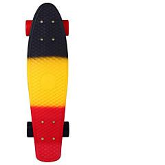 22 inç Standart Skateboards PP (Polipropilen) Abec-11 Gökküşağı