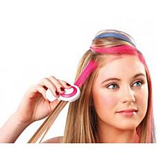 4 couleurs temporaire des cheveux craie coiffure bricolage couleur facile de lavage facile