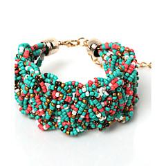 Beadia 1Pc Fashion Glass Seed Beads Bohemia Bracelet 20cm Women Bangle