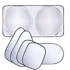 ziqiao janela do carro pára-sol do carro pára-brisa viseira bloco de cobertura janela da frente uv pára-sol protege a película janela do
