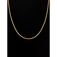 Női Nyakláncok Ékszerek Ezüstözött Arannyal bevont minimalista stílusú jelmez ékszerek Ékszerek Kompatibilitás Esküvő Parti Napi