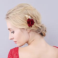 נשים קטיפה כיסוי ראש-חתונה אירוע מיוחד סיכת שיער חלק 1