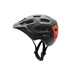Esportivo Unisexo Moto Capacete 18 Aberturas Ciclismo Ciclismo Ciclismo de Montanha Ciclismo de Estrada PC EPSBranco Vermelho Cinzento