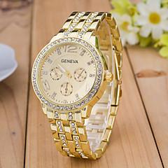 Mulheres Relógio Esportivo Relógio Elegante Relógio de Moda Relógio de Pulso Simulado Diamante Relógio Quartzo imitação de diamante Strass