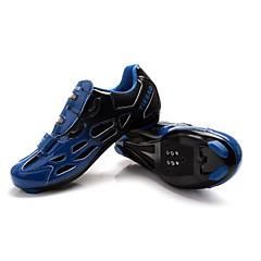 Fietsschoenen Unisex Ademend Draagbaar Voor Buiten Gesp Imitatieleer Wielrennen