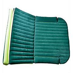 Carro cama colchão de ar duplo (180 * 128 * 12cm) flocagem portátil inflável confortável