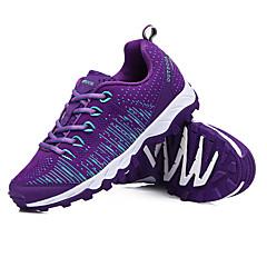 LEIBINDI נעלי ספורט נעלי טיולי הרים נעלי ריצה לנשים נגד החלקה Anti-Shake חסין בפני שחיקה טבע סוליה נמוכה בד פוליאמיד EVA מחוררריצה ספורט