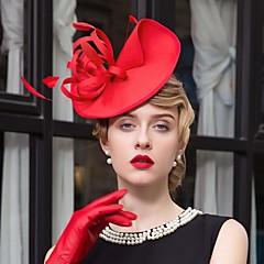 נוצה בד כיסוי ראש-חתונה אירוע מיוחד קז'ואל קישוטי שיער כובעים חלק 1