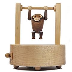 Music Box Čtvercový Zábava pro volný čas Dřevo Nespecifikováno
