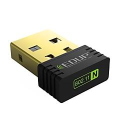 Edup usb wireless wifi adapter cartão de rede sem fio 150mbps ep-n8553