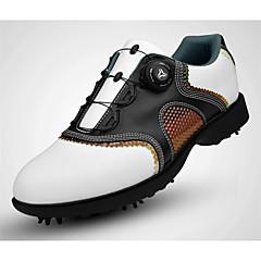 Chaussures de Golf Homme Golf Vestimentaire Respirable Entraînement Pour tous les jours Sport extérieur Utilisation Exercice Sportif Cuir