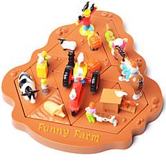 Puzzles Holzpuzzle Bausteine Spielzeug zum Selbermachen Kunststoff