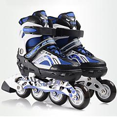 Kinder Erwachsene Inline-Skates Atmungsaktiv Einstellbar ABEC-7 - Weiß/Grün/Blau