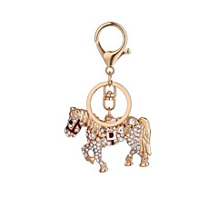 Fashion Horse Es Studded With A Key Chain