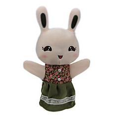 Prstová loutka Rabbit Bavlněné tkaniny