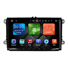 9 tommers quad core android 6,0 ​​bil multimedia gps spiller system 2 GB ram wifi&3g ex-tv dab for vw magotan 2007-2011 golf 5/6 caddy