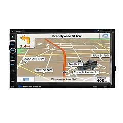 автомобильный радиоусилитель 2 din 6.95 '' дюймовый сенсорный экран с сенсорным экраном мультимедиа видео dvd player gps навигационное