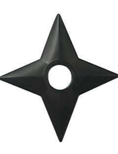 Aseet Innoittamana Naruto Cosplay Anime Cosplay-Tarvikkeet Aseet Musta Engineering Plastic Uros / Naaras