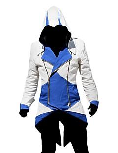 Inspireret af Snigmorder Assassin video Spil Cosplay Kostumer Cosplay Kostumer Patchwork Langærmet Frakke