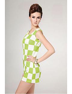 TS Simplicity Check Sexy Dress