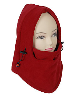 Máscara Unisex Outdoor vermelho Windproof da Polar Ciclismo