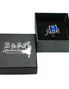 Kuroshitsuji Ciel Phantomhive Sapphire Ring Cosplay Tarvikkeet