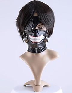 Máscara Inspirado por Tokyo Ghoul Fantasias Anime Acessórios de Cosplay Máscara Preto Chifon Masculino / Feminino