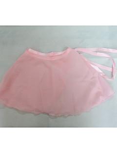 バレエ スカート 女性用 子供用 演出 訓練 シフォン 1個 スカート