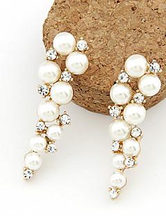 Žene Viseće naušnice kostim nakit Biseri Imitacija bisera Umjetno drago kamenje Imitacija dijamanta Legura Jewelry Za